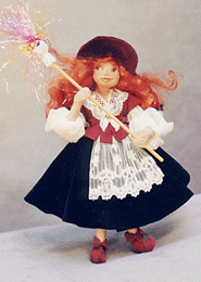 Smallwork.com ~ Vasalisa Intuition-In-Your-Pocket Cloth Doll Pattern by Melinda Small Paterson