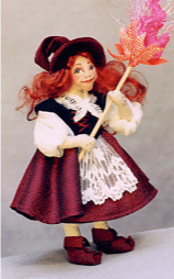 Vasalisa Intuition-In-Your-Pocket Cloth Doll Pattern by Melinda Small Paterson