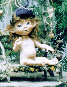 Twyla Porcelain Faerie Doll  by Melinda Small Paterson
