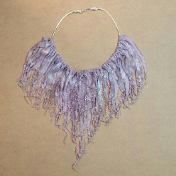 Lavernder Fizz Soft Necklace by Melinda Small Paterson