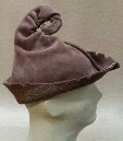 Brown Elf Hat by Melinda Small Paterson