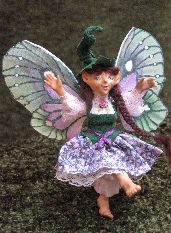 Green Girl Faerie